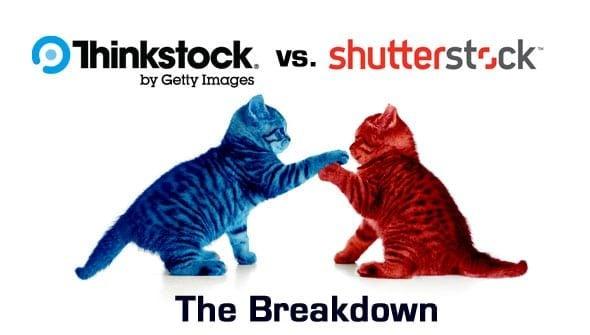 Thinkstock vs. Shutterstock