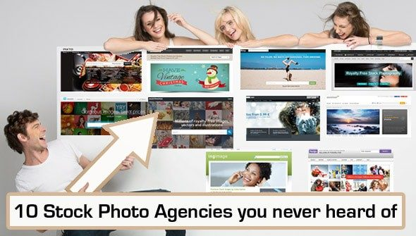 10 Stock Photo Agencies you never heard of but need to check out!