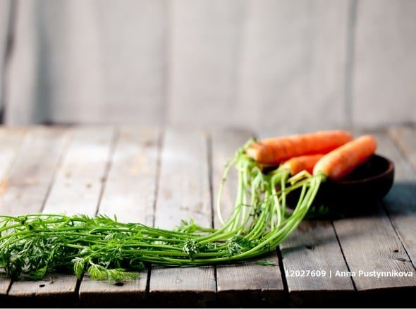 Unwashed Vegetables