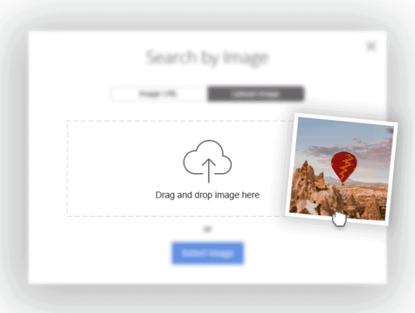 Depositphotos Reverse Image Search Screenshot