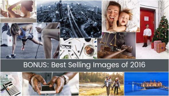 Best Selling Images 2016