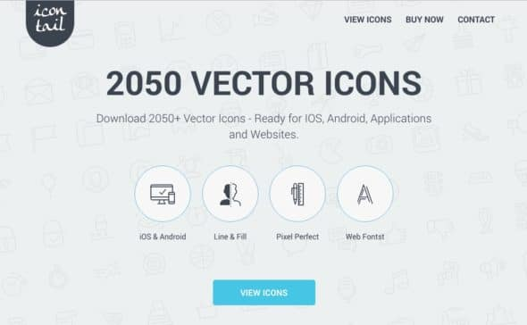 Icontail Vector icons Screen
