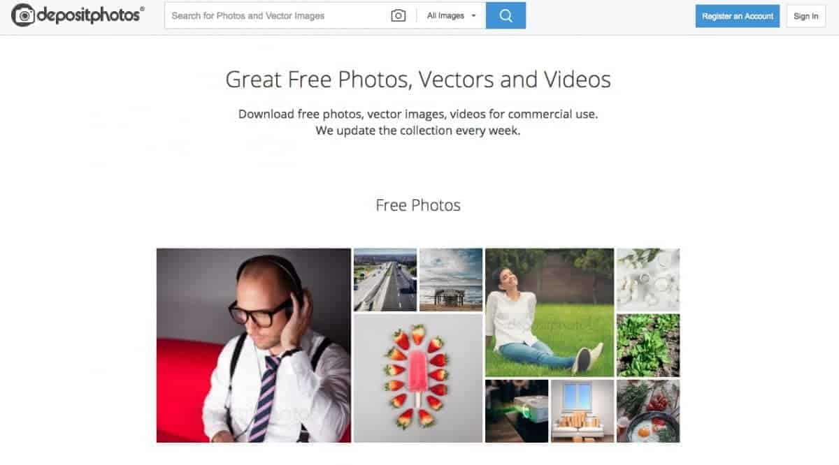 Where can i find Depositphotos free Photos? > Stock Photo Secrets