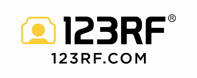 123rf Logo