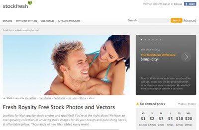 Stockfresh Screenshot