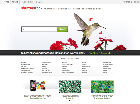 Shutterstock coupon codes