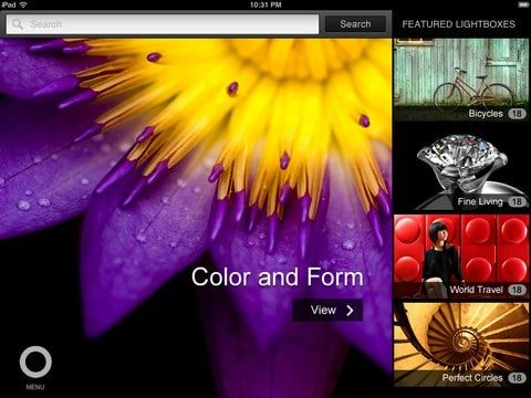Shutterstock has a new Ipad app for designers and stock photo buyers