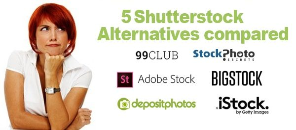 5 Shutterstock Alternatives Compared which will surprise you
