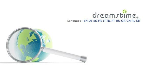 Dreamstime additional languages has meant additional photos