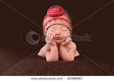 cute baby stock photo SHutterstock