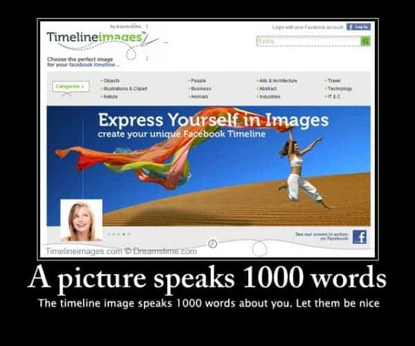 Dreamstime launches new Facebook timeline images