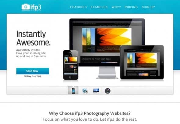 ifp3 products for online photographers and photos sellers