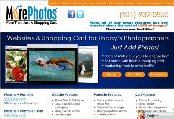 Morephotos helping photographers sell more photos online