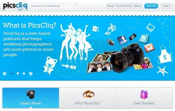 piccliq earn extra cash with your wedding photos