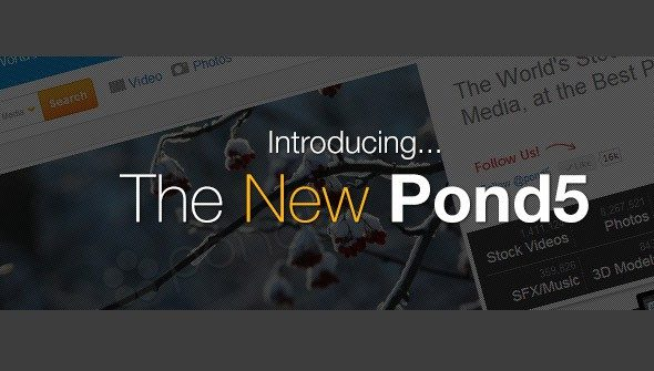 Pond5 releases new Website with great new Features!