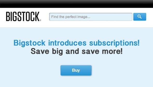 Bigstock Subscriptions