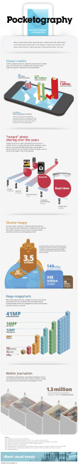 Trends in Mobile Photography Infographic 2013