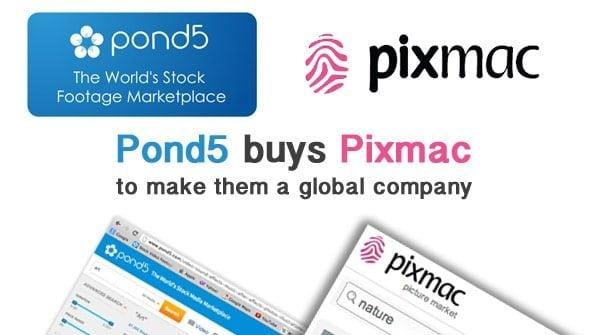 Pond5 buys Pixmac