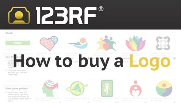 How to buy a Company Logo at 123RF