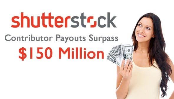 Shutterstock Contributor Payouts Surpass $150 Million