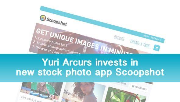 Yuri Arcurs invest in Scoopshot