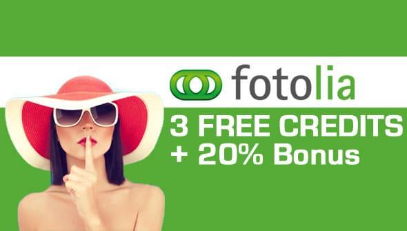 Fotolia Promo Code – 3 Free Credits Coupon + 30% More amazing Photos