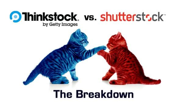 Thinkstock vs. Shutterstock – The Breakdown
