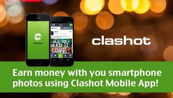 Earn money with Clashot