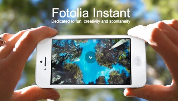 Fotolia Instant – More Opportunities to Be Creative via Mobile App