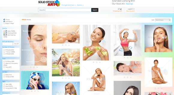 Solid Stock Art Search