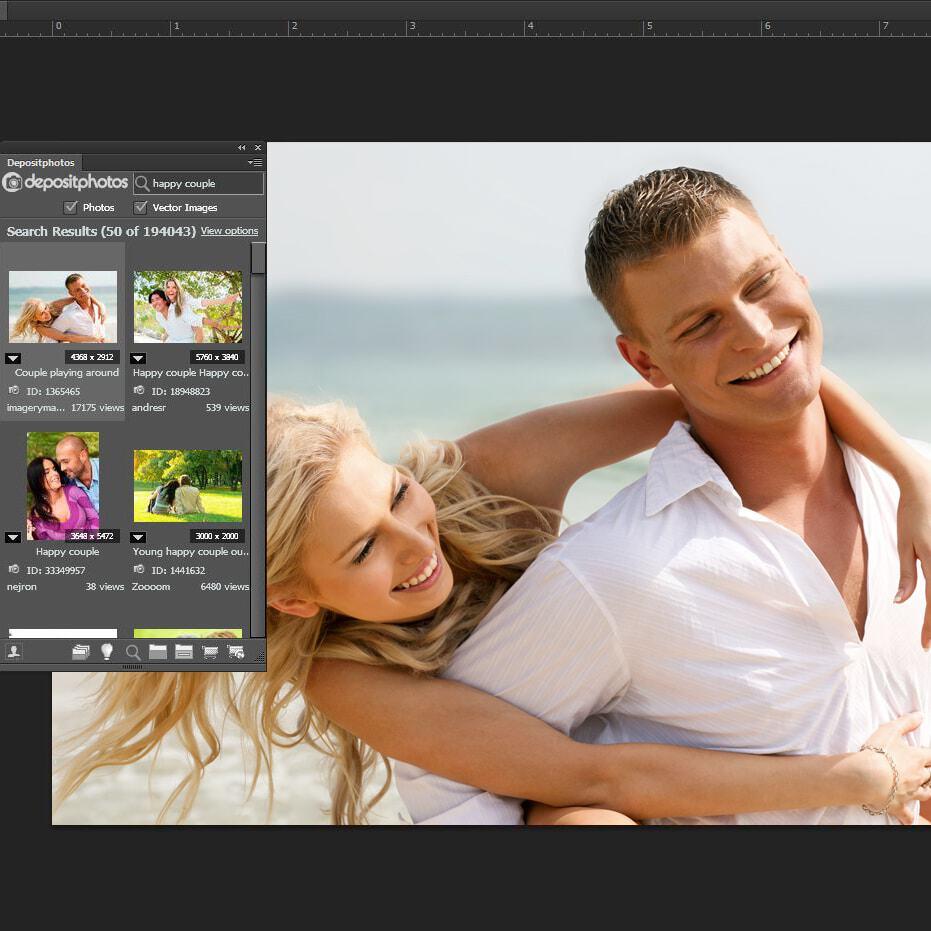 Depositphotos publishes free Adobe Extension