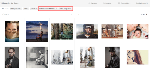Image searching Options