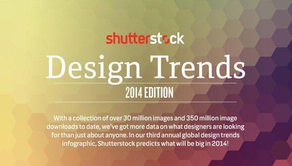 Shutterstock shares design trend analysis for 2014