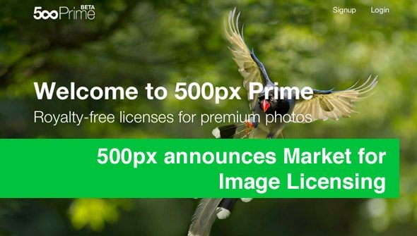 500px announces Market for Image Licensing