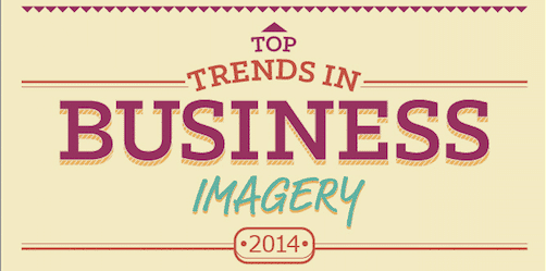 Trends in Business Imagery by iStock (Infographic)