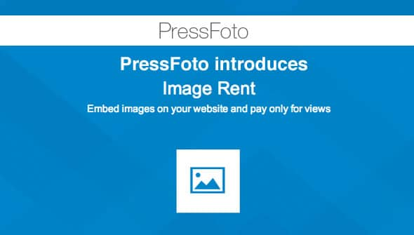 PressFoto introduces ImageRent