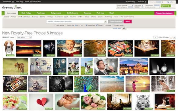 "Dreamstime new ""similar images"" learns from customers"