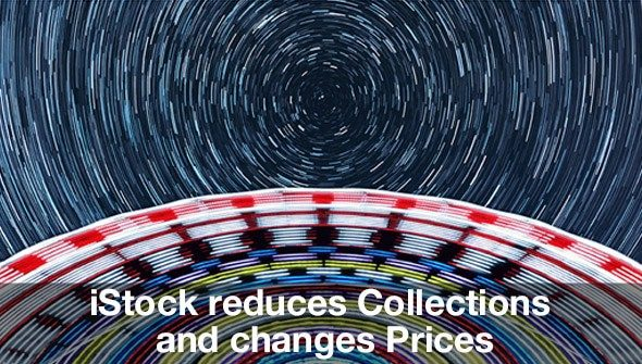iStock reduces Collections and changes Prices