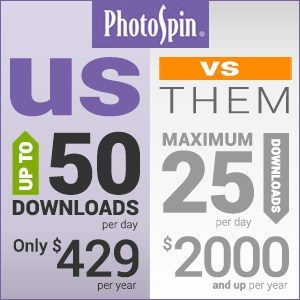 Photospin - starting just $2 per Image