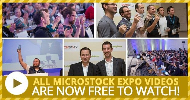All Microstock Expo Videos are now FREE!