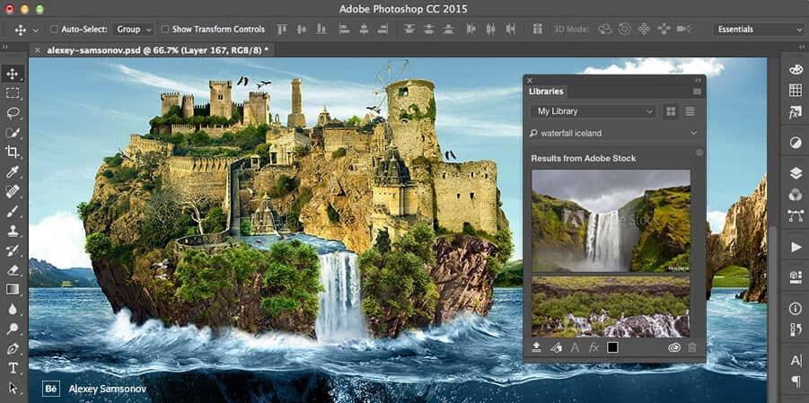 Adobe Stock Creative Cloud