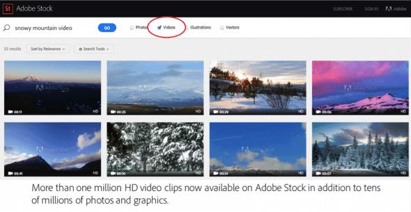 Adobe Stock Video Footage
