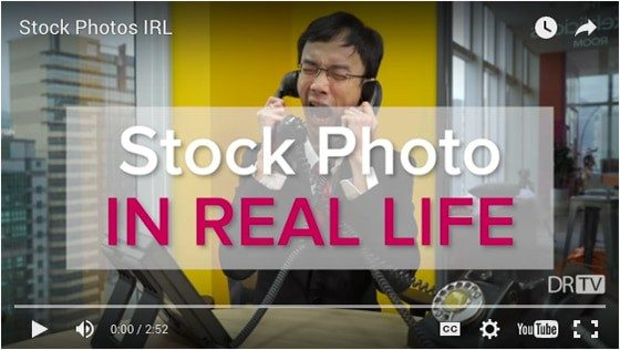 The Truth Behind Stock Photography… according to DRTV (VIDEO)