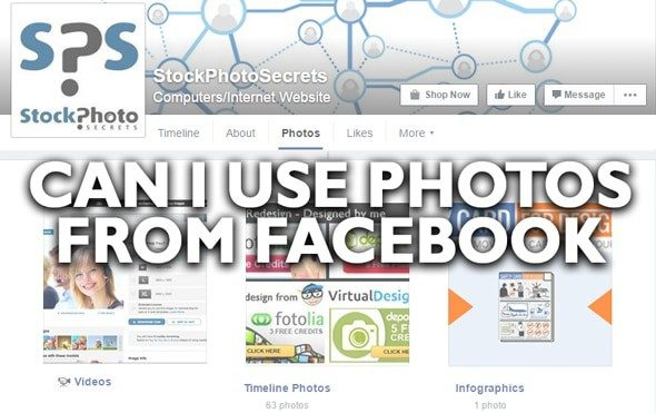 Can I Use Photos From Facebook? A cheap and easy solution! > Stock