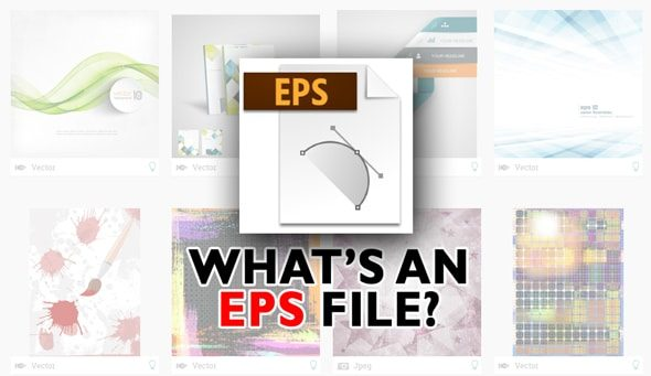 EPS file - what is it and which programs can open it? > Stock Photo