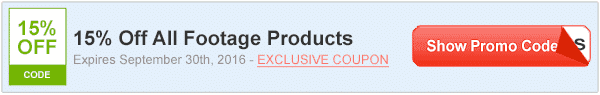 15% Off Shutterstock Footage
