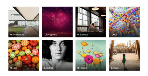 Shutterstock Photography Categories