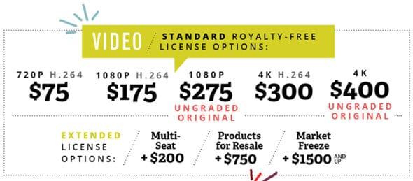 stocksy-video-prices