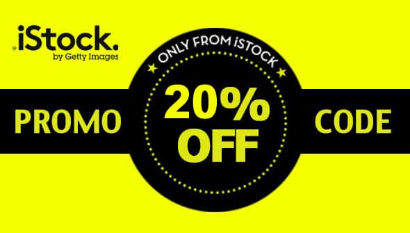 20% OFF exclusive iStock Promo Code – Save BIG in 2018 at iStockphoto