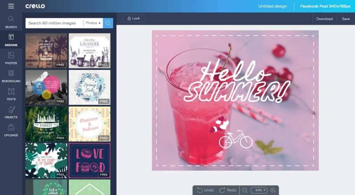 Crello: Depositphotos' Free Image Editor for Non-Designers!